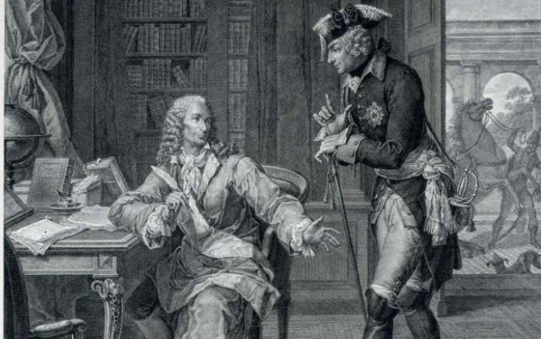From Voltaire to Frederick, Crown Prince of Prussia